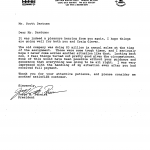 Scan of Janitorial Management Services Corp. testimonial letter